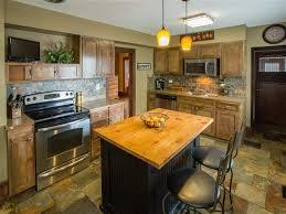 craftsman kitchen with stone tile u0026 limestone counters in spokane