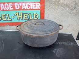 cuisine cocotte en fonte ancienne grosse cocotte fonte cuisine vintage 25 marmite faitout