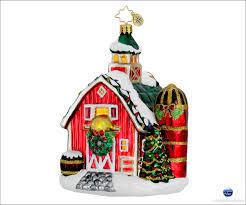 christopher radko festive farm 1016054