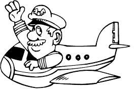 pilot coloring pages wecoloringpage