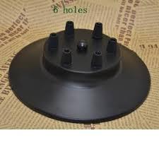 Vintage Pendant Light Black Color Porous Heads Ceiling Lamp Base For Vintage Pendant