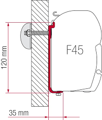 Fiamma Awning Walls Fiamma Adapter Kit As 110 As 120 As 400 And As 400 L Awning
