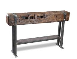 Reclaimed Wood Console Table Unique Reclaimed Wood Console Table Beautiful And