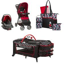 Mickey Mouse Table And Chairs by Disney Mickey Mouse Baby Gear Bundle Stroller Travel System Play