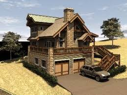 log home floor plans with garage home floor plans with drive under garage escortsea