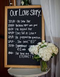 Chalkboard Wedding Program Picture Of The Hottest Wedding Trend Chalkboard Pieces