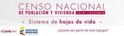 formato hoja de vida 2016 colombia convocatoria laboral para el censo nacional de población y vivienda