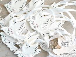 baptism favor ideas baptism dove favors set of 6 personalized salt dough ornaments