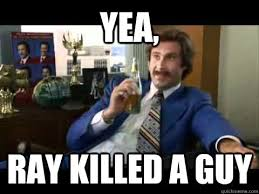 Ray Lewis Meme - yea ray killed a guy ray lewis is a murderer quickmeme