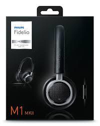 buy philips m1mk11bk fidelio headphones with microphone black