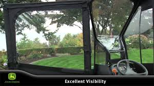 john deere custom enclosure for the x series of lawn tractors