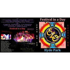 Electric Light Orchestra Telephone Line Live In Hyde Park 2014 2cd By Electric Light Orchestra Cd X 2