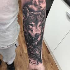 wolf in the woods ideas for best tattoos