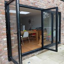 Pvc Folding Patio Doors by Bi Folding Doors Albany Windows Double Glazing Installers In