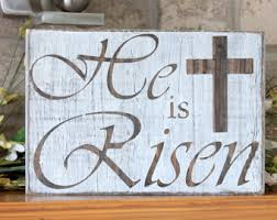 Wooden Decorations For Easter by Rustic Easter Decor Etsy