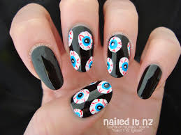 cute halloween nails nailed it nz october 2014
