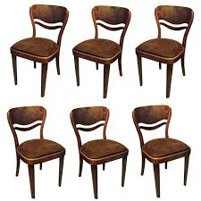 Dining Room Furniture For Sale Set Of Six Thonet Dining Room Chairs For Sale At 1stdibs
