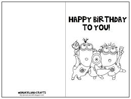 free printable minion birthday card printable invitations