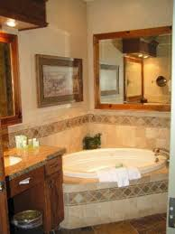 Corner Soaking Tubs For Small Bathrooms Corner Soaking Tub With Surround Tile Same Layout As Our Bathroom