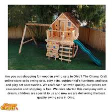 Swing Set For Backyard by Backyard Swing Sets Store In Ohio Usa