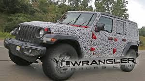 jeep wrangler 2018 spied 2018 jeep wrangler jl u2013 what u0027s different