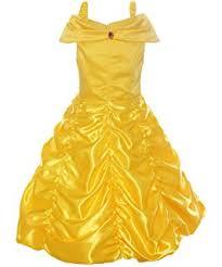 Princess Amber Halloween Costume Amazon Toddler Disney Belle Halloween Costume 3 4t Toys