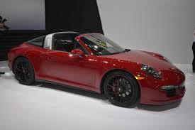 porsche cayenne matte red porsche 911 targa 4 gts and cayenne turbo s two world premieres