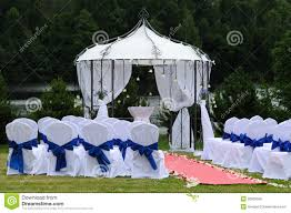 wedding place outdoor wedding place stock image image of outside countryside