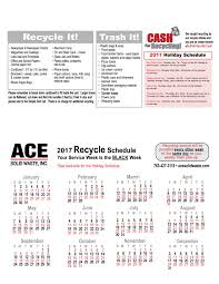 twin cities recycling services ace solid waste