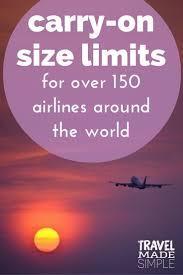 17 ide tentang luggage sizes di pinterest