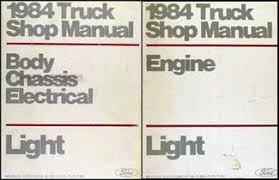 1984 ford f150 f250 f350 pickup truck wiring diagram original