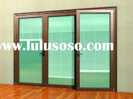 Wood Patio Doors With Built In Blinds by Creative Of Sliding Patio Doors With Internal Blinds Blinds