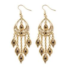 chandelier earings chandelier glass bead earrings shop the best deals