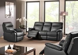 canapé cuir 3 places relax canap cuir 3 places relax electrique 15 avec canape et fauteuil