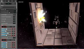tutorial creating a 3d star wars scene in voxels using