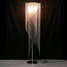 aliexpress com buy led fashion modern crystal floor lamp living