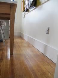 Laminate Flooring Baseboard Diy Baseboard Trim Installation Merrypad