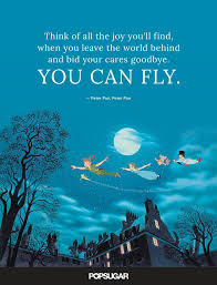 you can fly when there s a smile in your heart there s no better time to start