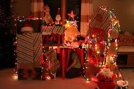 lighted santa s workshop advent calendar create santa s workshop in your living room kid s christmas