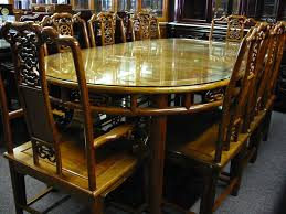 oval dining table set for 6 solid rosewood furniture dining table set ming dynasty style