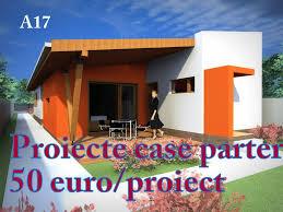proiecte case parter de vanzare 50 euro plan format dwg