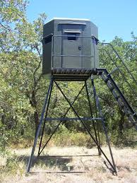 Bow Hunting Box Blinds Texas Deer Stands Box Blinds Towers Feeders