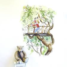 treehouse wall decals wall murals you ll love treehouse wall stickers murals you ll love