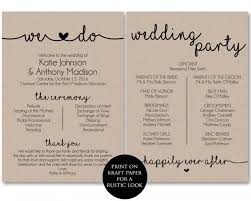 downloadable wedding programs 43 about free printable wedding ceremony