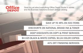 Office Depot by Limit Supply Expenses With Office Depot Nsca