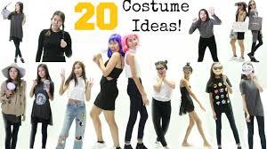costume idea halloween 20 easy last minute halloween costume ideas 2015 youtube