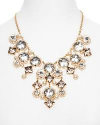 gold plated statement necklace images Kate spade 12k gold plate with pearls and crystals perfect elegant jpg