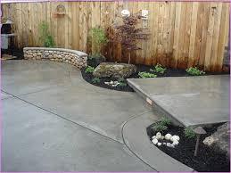 Backyard Floor Ideas Front Yard Concrete Patio Idea Home Design Idea Porch
