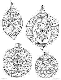 ornament coloring detailed ornament coloring