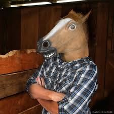 horse head mask accoutrements archie mcphee wholesale